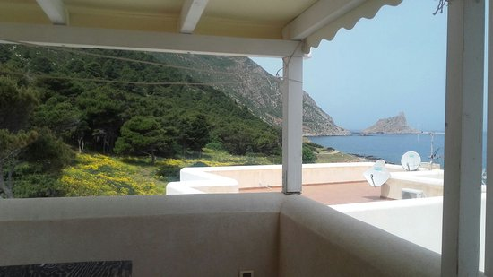 Terrazza vista mare - Picture of Il Corallo, Marettimo - TripAdvisor