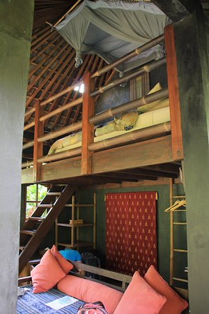 Bali Eco Stay Bungalows: bed