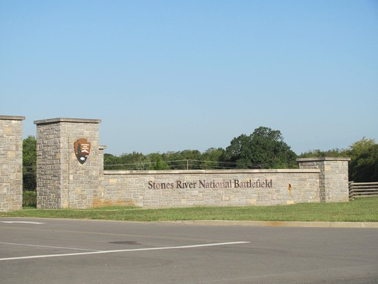 Stones River National Battlefield: Main entrance of Stones River