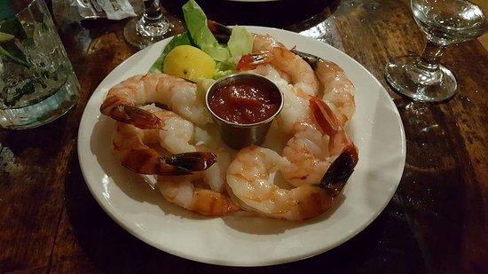 Black Point Inn Resort: HUGE shrimp!