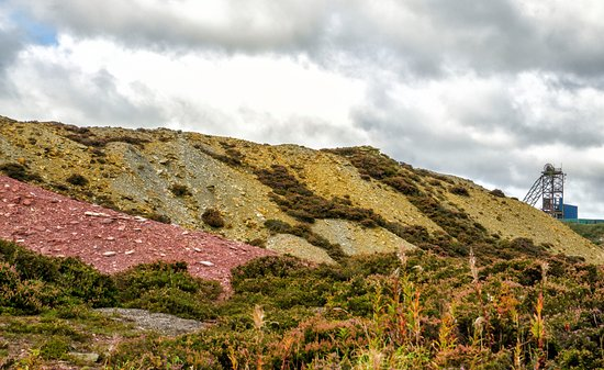 Amlwch, UK: Parys Mountain