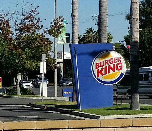 La Palma, CA: Burger King