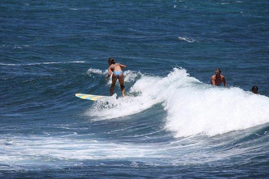 Paia, Havaí: Surfisti