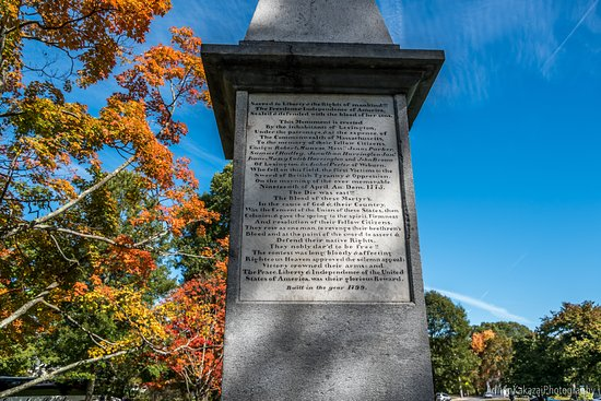 Lexington, MA: The Revolutionary Monument 1799...
