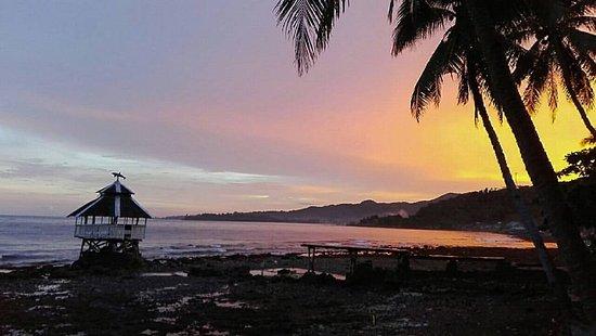 Jagna, Filipina: Beautiful sunset at Paseo Del Mar