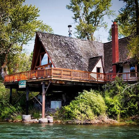 Irwin, Айдахо: Our amazing a frame over the river. 2bedroom 2 bathroom.