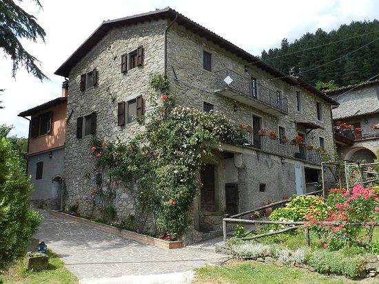 Castiglione di Garfagnana, Italia: La vista dal parcheggio