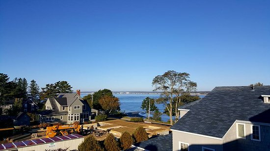 Black Point Inn Resort: View from room showing new construction going up