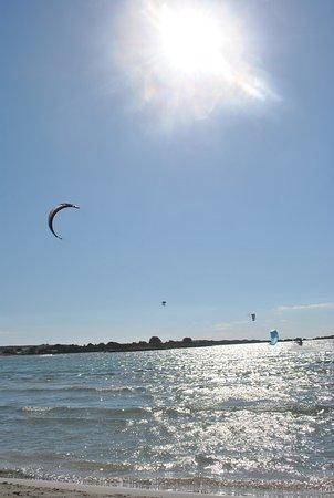 Langsam Geht Die Sonne Unter Bild Von Strand Von Elafonissi
