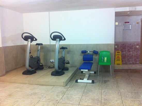 Gym Next To Spa Picture Of Ohtels Belvedere Salou Tripadvisor