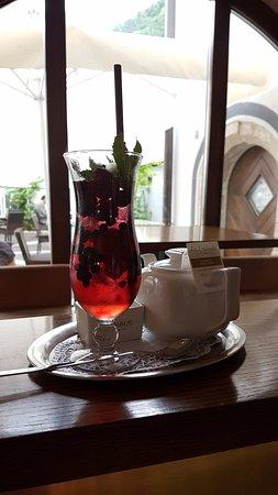 Kamnik, Slovenia: Ice tea