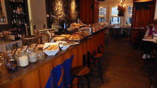 Hotel 54° Nord: Frühstücksbuffet