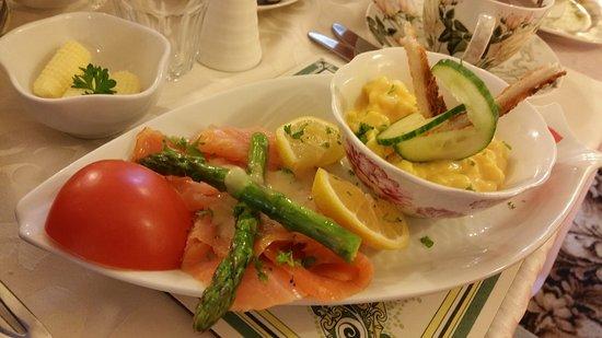 Ben View House: saumon scrambled eggs