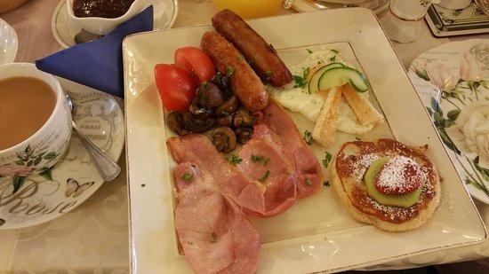 Ben View House: full irish breakfast