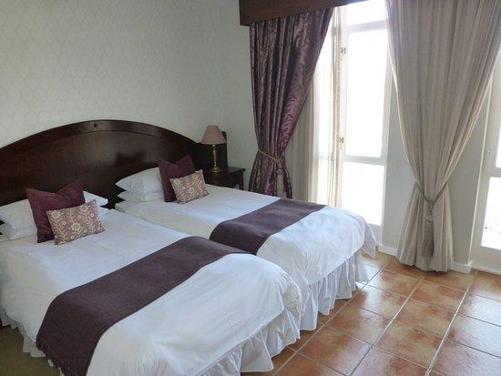 Hotel Eberwein: Unser Zimmer im ersten Stock...