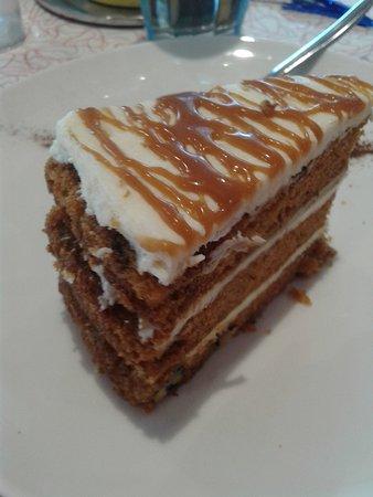 Puilboreau, Francia: Grosse part de carrot cake!!!