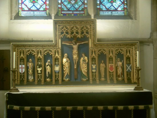 Dorchester-on-Thames, UK: The Abbey Altar