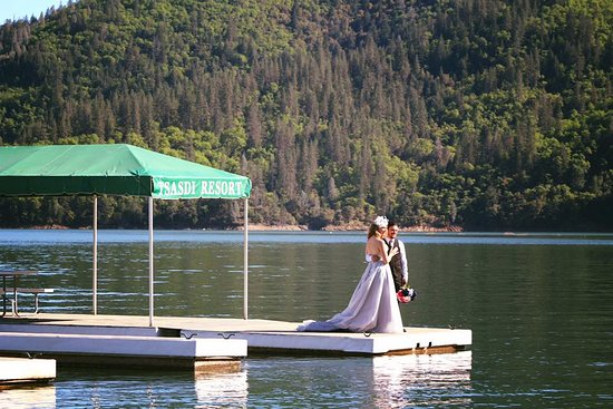 Lakehead, CA: Tsasdi Resort is the perfect location for weddings