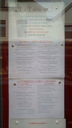 Josselin, Fransa: La table d'O (1)