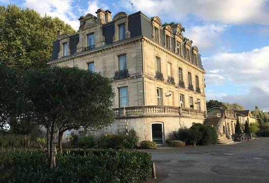 Blanquefort, Frankrike: vue du château et du site