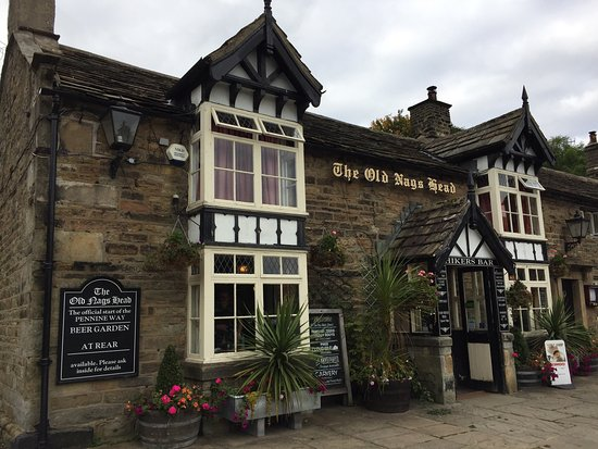 Edale, UK: The Old Nag's Head