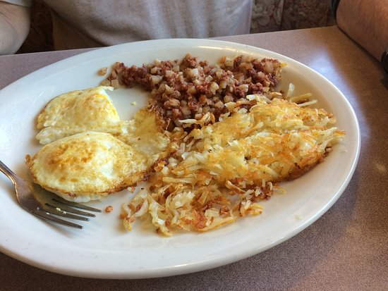 Catalina, AZ: Hash and eggs