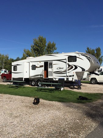 Century Park Mobile Home RV Site 54 50 Amp Level