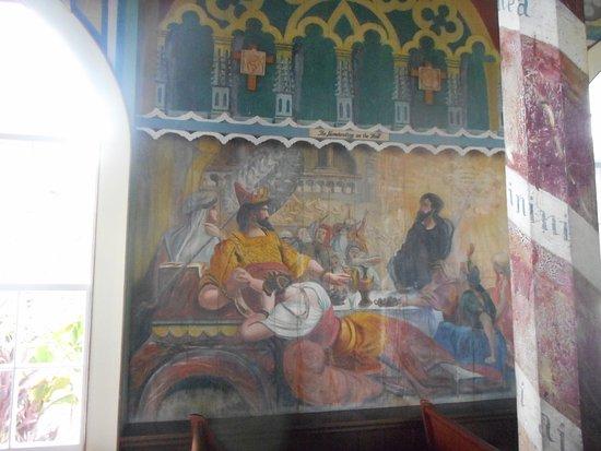 Honaunau, HI: murale