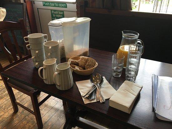 """Ballylickey, İrlanda: """"colazione"""""""