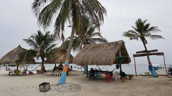 San Onofre, Colombia: vista de la playa
