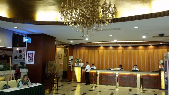 Charms Hotel: lobby Hotel