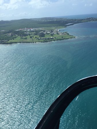 Caribbean Helicopters: Amazing trip......