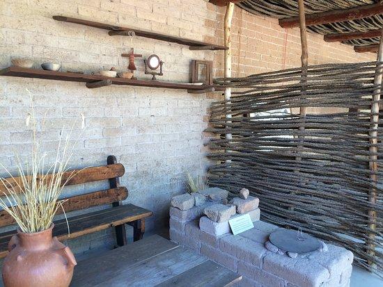 Tubac, AZ: Re-creation of old Presidio