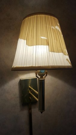 Absecon, NJ: this was the lamp in my room that I paid for..