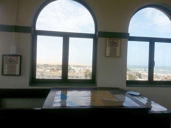Woermannhaus : Im Turmzimmer gibt es auch innen etwas zu sehen - darunter Geschichten anderer historischer Gebä