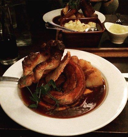 Клеведон, UK: roast