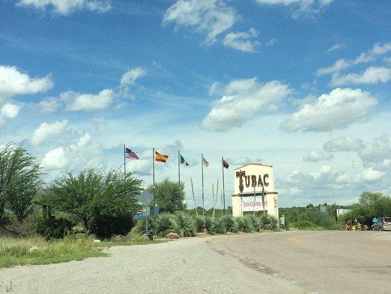 Tubac sign