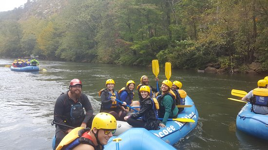 Ducktown, TN: Birthday raft