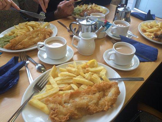 West Hoe Fish Fryers : Our meals