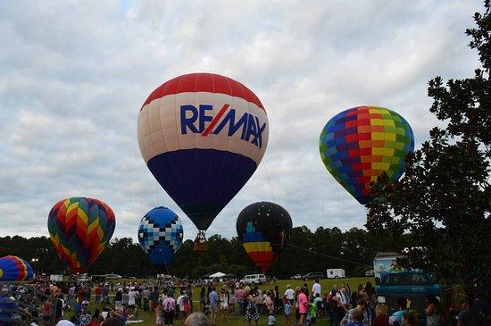 Hot Air Balloon Festival Picture Of Callaway Gardens Pine Mountain Tripadvisor