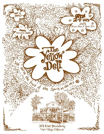 The Yellow Deli: Menu