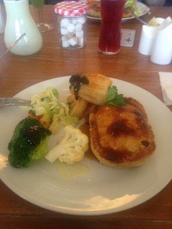Birchington, UK: Venison pie
