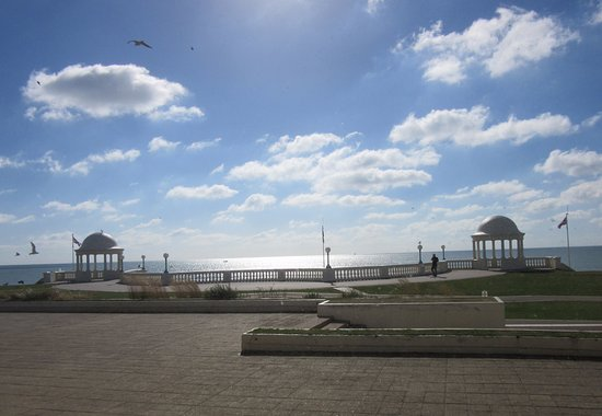 Bexhill-on-Sea, UK: View from restaurant