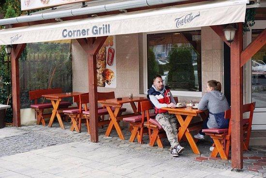 garten grill, Уличная веранда бара-бистро «corner grill» - 02 - picture of grill, Design ideen
