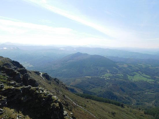 Sare, France : A view from the summit