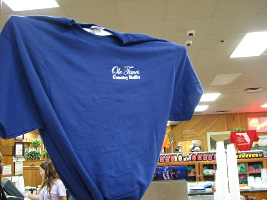 Ole Times Country Buffet: Shirts for sale