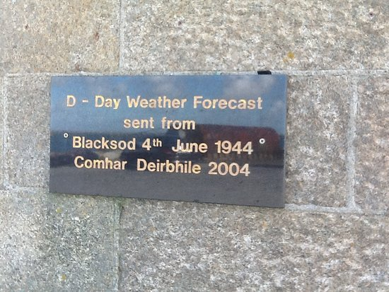 Belmullet, İrlanda: The most important weather forecast in history?