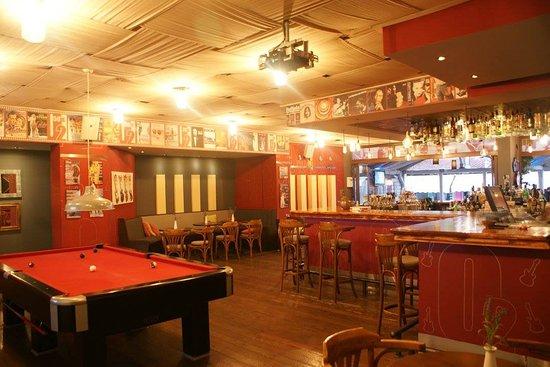 Pool Table Picture Of O Old School Rock Bar Gouvia TripAdvisor - Old school pool table