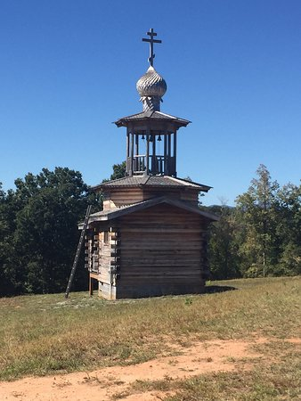 Columbus, Carolina del Norte: Great wines and a beautiful chapel!