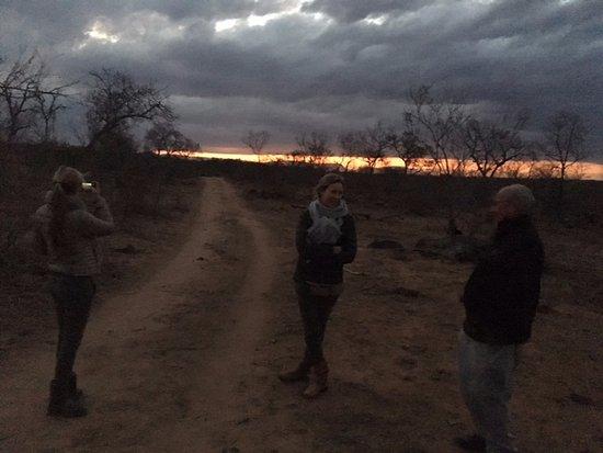 Singita Private Game Reserve, جنوب أفريقيا: A rest in the bush at sundawn